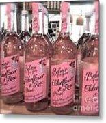 The Pink Drink Metal Print