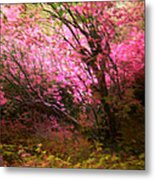 The Pink Forest Metal Print