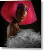 The Pink Panther Metal Print