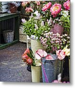 The Pink Section Metal Print