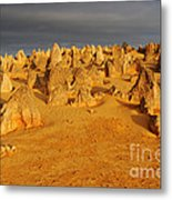 The Pinnacles 4 Metal Print