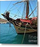 The Pirate Ship  Metal Print