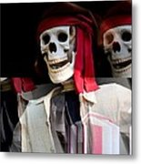 The Pirate's Ghost Metal Print