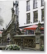 The Pixie Fountain Cologne Germany Metal Print