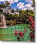 The Place To Relax Metal Print