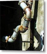 The Planning Department's Sewage Pipe Metal Print