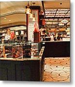 The Plaza Food Hall Metal Print