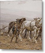 The Ploughman Wilmington Polegate Near Eastbourne Metal Print