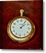 The Pocket Watch Metal Print