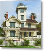 The Point Fermin Lighthouse Metal Print