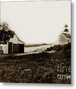 The Point Pinos Lighthouse Pacific Grove California Circa 1895 Metal Print