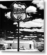 The Polk-a-dot Drive In Metal Print