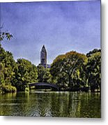 The Pond - Central Park Metal Print