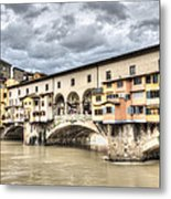 The Ponte Vecchio In Florence Metal Print