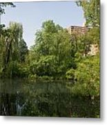 The Pool Central Park Metal Print