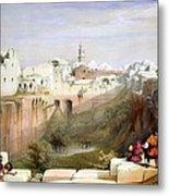 The Pool  Of Bethesda Jerusalem Metal Print