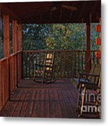 The Porch Beckons Metal Print by Kay Pickens