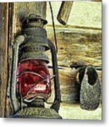 The Porch Light Metal Print