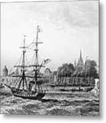 The Port Of New Orleans Metal Print