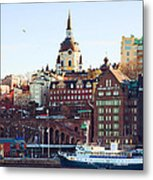 The Port Metal Print by Viacheslav Savitskiy