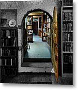 The Portal To Learning Metal Print