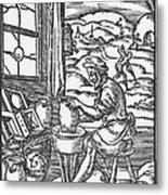 The Potter, 1574 Metal Print