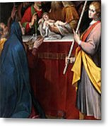 The Presentation In The Temple Metal Print