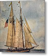 The Pride Of Baltimore II Metal Print