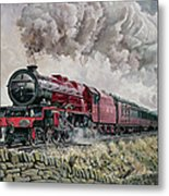 The Princess Elizabeth Storms North In All Weathers Metal Print