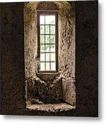 The Priory Window Metal Print