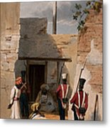 The Prison Of Hadjee Khan Kakus - Metal Print