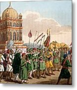 The Procession Of The Taziya, From The Metal Print
