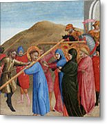 The Procession To Calvary Metal Print