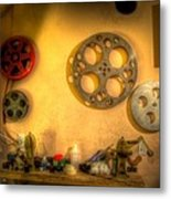 The Projection Room 4675 Metal Print