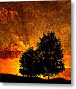 The Promise Overlay Version Metal Print