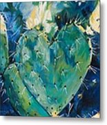 The Protected Heart Metal Print