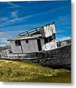 The Pt. Reyes Muted Metal Print
