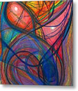 The Pulse Of The Heart Lies Strong Metal Print