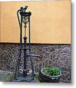 The Pump At St Goar Am Rhein Metal Print
