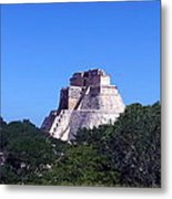 The Pyramid Of The Magician Metal Print