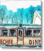 The Quechee Diner Vermont Metal Print