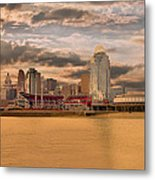 The Queen City Cincinnati Metal Print