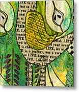 The Queen Of Pears Metal Print