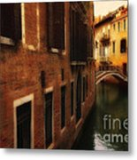 The Quiet Canal Metal Print