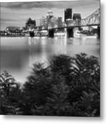The Quiet City Metal Print by Steven Ainsworth