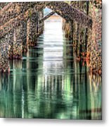 The Quiet Of Green Metal Print by JC Findley