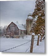 The Quiet Waiting Metal Print