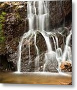 The Quiet Waterfall Metal Print