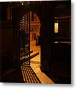 The Quire Lies Beyond Metal Print