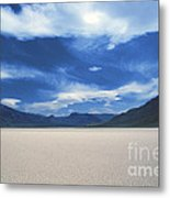 The Race Track Metal Print